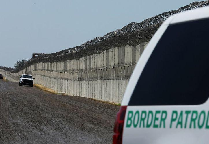 La solicitud de presupuesto de la administración Trump para el año fiscal 2018 incluye 1.6 mil millones de dólares para la construcción del muro fronterizo. (Reuters).