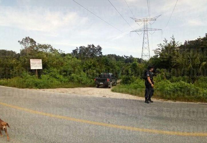 Los hechos se registraron en la Ruta de los Cenotes. (Eric Galindo/ SIPSE)