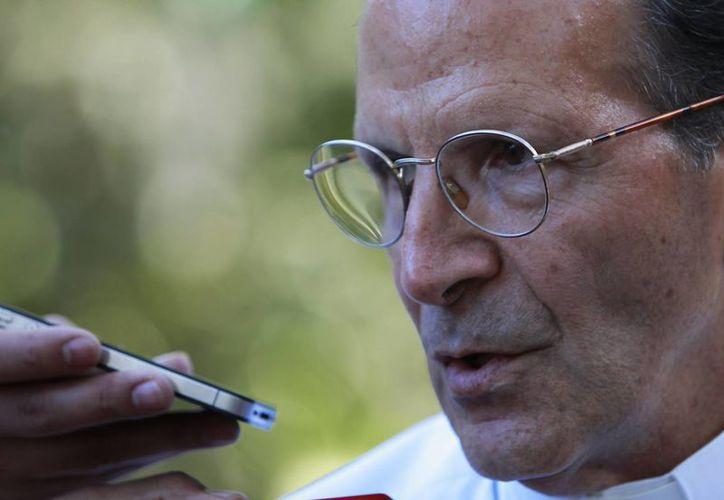 El padre Alejandro Solalinde destaca por su labor en la defensa de inmigrantes y también por alzar la voz en el caso de los normalistas de Ayotzinapa. Se encuentra en Colombia participando en los Premios Gabriel García Márquez de Periodismo. (EFE)