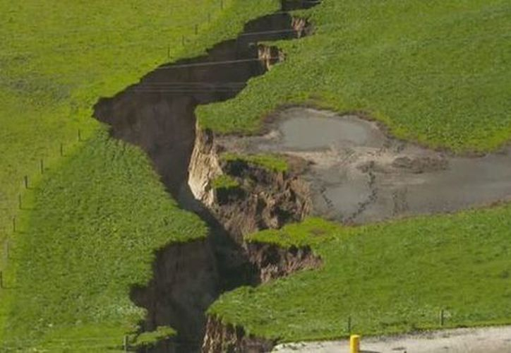 Entre sus capas se hallaron sedimentos de la más reciente erupción del lago Taupo, ocurrida hace unos 1.800 años. (Foto: Especial).