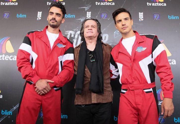 Diego Amozurrutia y Vadhir Derbez son los protagonistas de 'Entre Correr y Vivir'. (Notimex)