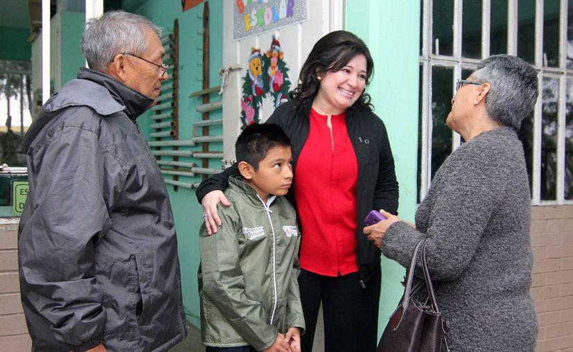 Los adultos mayores de todo el Estado son prioridad para la FGE, asegura la primera fiscal Celia Rivas. (Milenio Novedades)
