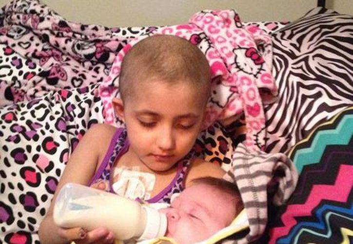 Laney Brown fue diagnosticada con cáncer apenas en mayo: murió ayer en plena Navidad. (Facebook)