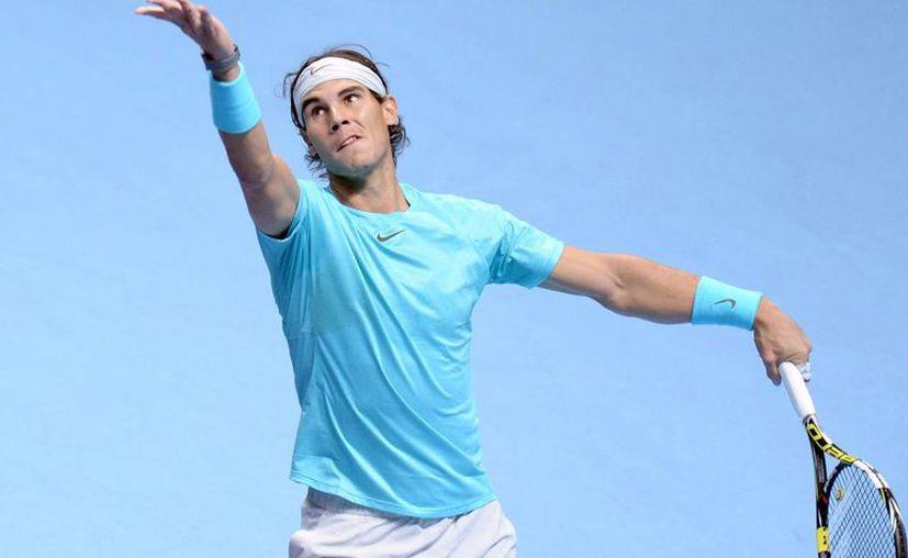 El ibérico aprovechó las ventajas que tenía sobre Federer. (EFE)