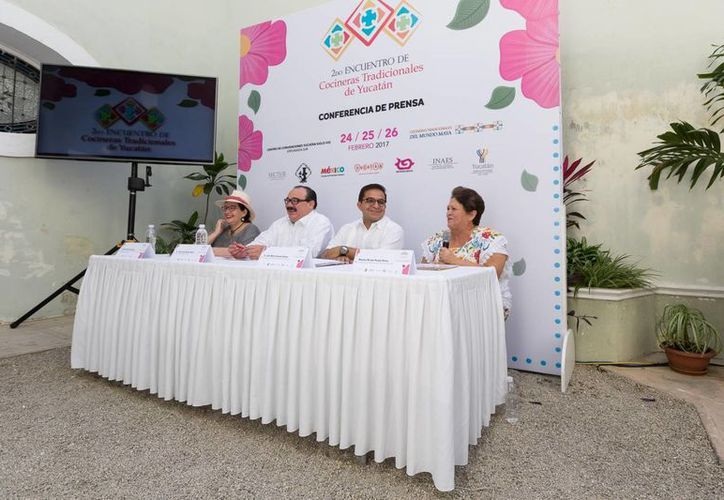 Del 24 al 26 de febrero se llevará a cabo el II Encuentro de Cocineras Tradicionales de Yucatán, en el Centro de Convenciones Yucatán Siglo XXI. (Foto cortesía del Gobierno)