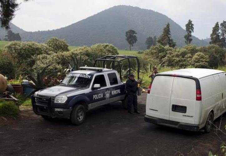 En el secuestro de las 13 personas que estaban en el bar Heaven están implicadas muchas personas; algunas ya fueron detenidas. En la foto, la zona del Estado de México donde fueron hallados los cuerpos. (Notimex/Foto de archivo)