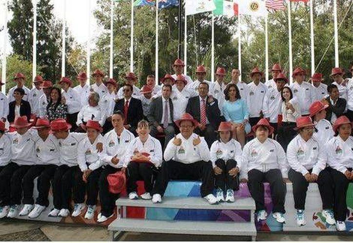 Son 251 atletas de 28 países los que competirán desde este viernes en el Mundial de Natación para deportistas con Síndrome de Down, en Morelia. (Conade)
