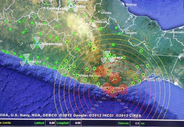 La Secretaría de Gobernación descartó daños por el sismo de 5.6 grados registrado la madrugada del domingo, en el centro del país. (Twitter: @protcivilmunpue)