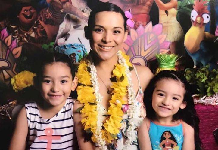 La familia teme por la niñas de 8 y 5 años de edad, ya que la ex pareja de Karla es muy agresivo. (Foto: Excélsior)