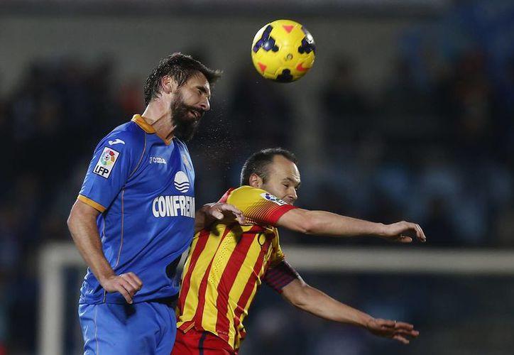Barcelona vence 5-2 al Getafe en su casa. (Agencias)
