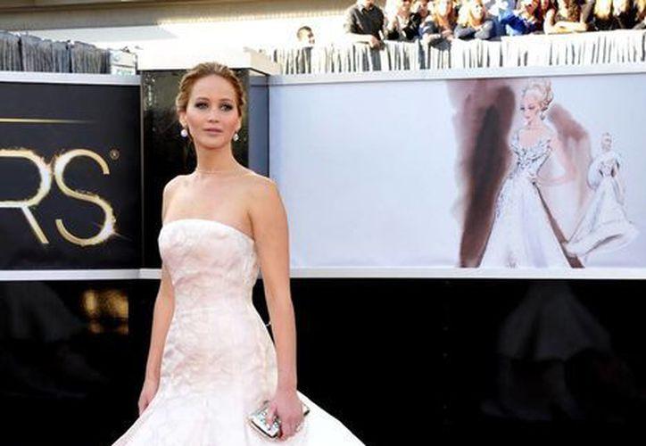 """""""Mis padres no me dejarían convertirme en diva"""", dijo Jennifer Lawrence. (Agencias)"""
