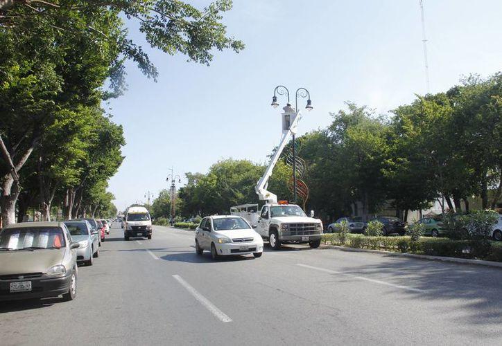 Hasta el momento no hay acuerdo de coordinación entre el Ayuntamiento de Mérida y el Gobierno del Estado para las obras en Paseo de Montejo. (Juan Carlos Albornoz/SIPSE)