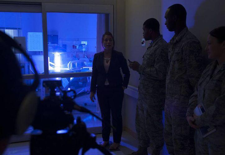 La base militar de Langley, en Virginia, adquirió un androide 'Xenex'. (xenex.com)