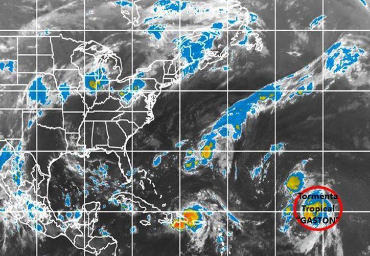 La onda tropical no está bien organizada ni presenta, por el momento, un centro bien definido. (smn.conagua.gob.mx)