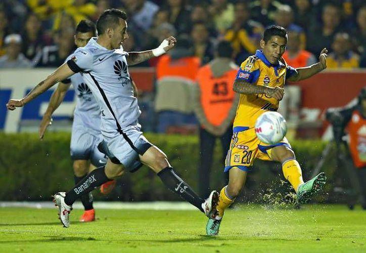Los Tigres golearon este sábado al América 4-1 en partido de la jornada ocho del futbol mexicano. (Mexsport y Liga MX)