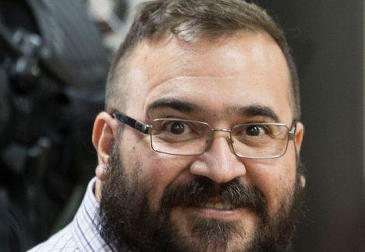 El juez pidió al asesor de Javier Duarte, Pablo Campuzano, abandonar el recinto. (Milenio)
