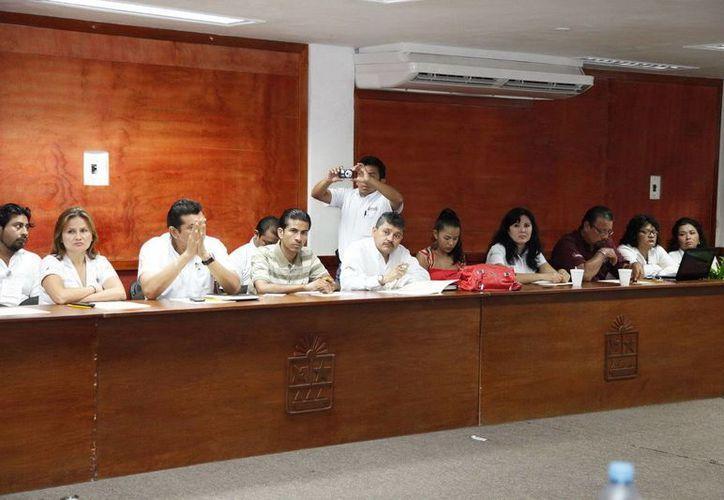 Representantes del Coespo y de la Conapo participaron en el evento. (Redacción/SIPSE)