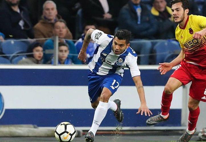 El Porto venció por goleada de 5-0 al Rio Ave. (Porto)
