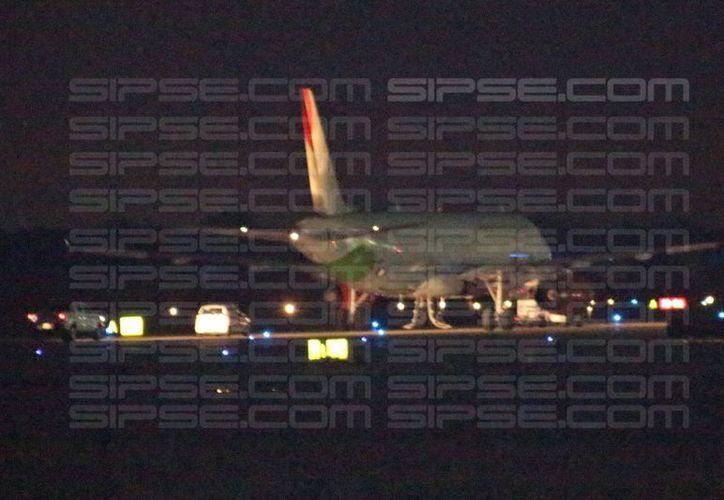 La aeronave será revisada por el equipo de mantenimiento y la autoridad aeronáutica antes de regresar a servicio. (Adán Escamilla/SIPSE)