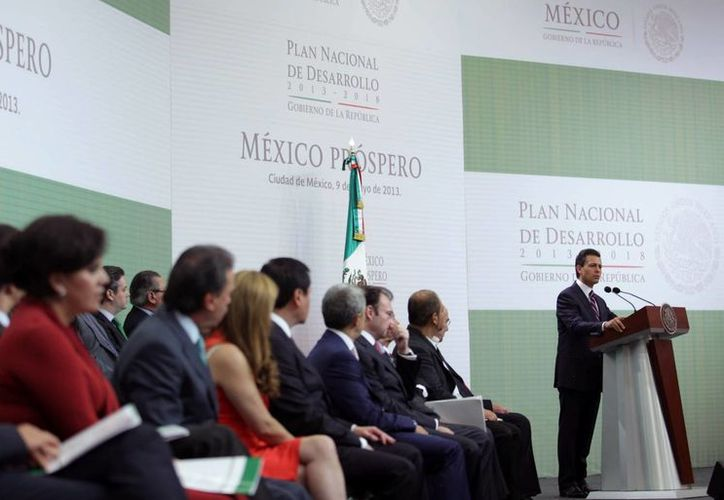 Peña Nieto encabezó los trabajos de la consulta pública. (Archivo/Notimex)