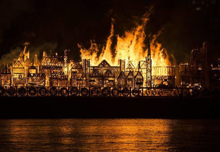 El 4 de septiembre de 1666 la ciudad de Londres fue destruida por un gran incendio. (EFE)