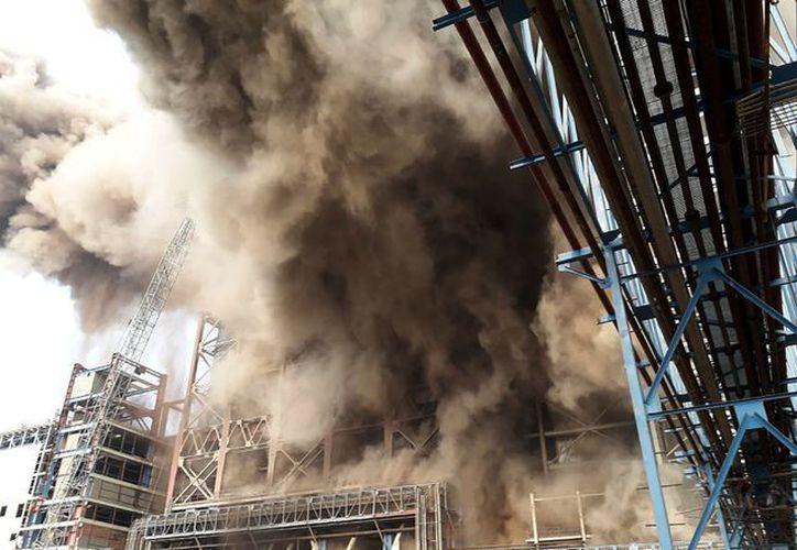 Una explosión en una planta térmica en el norte de India dejó al menos 16 muertos y 40 heridos. (AFP).