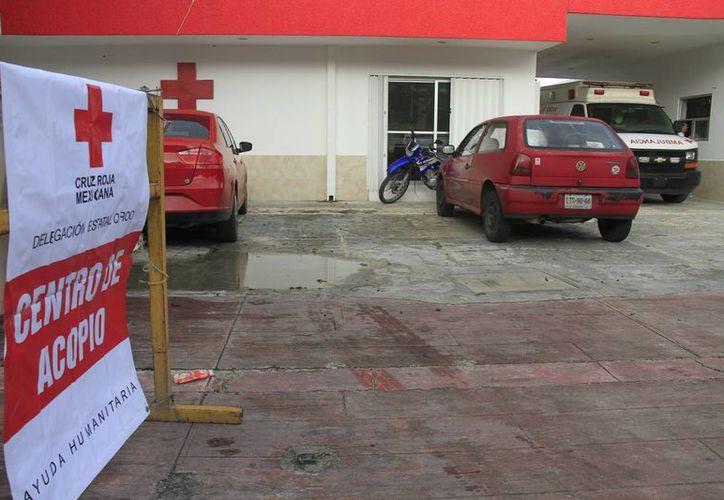 Pueden entregar el apoyo en el centro de acopio de la Cruz Roja. (Consuelo Javier/SIPSE)