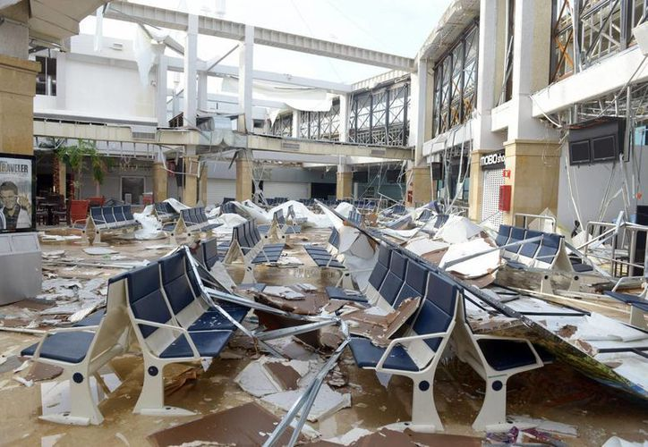 Los vientos huracanados causan pérdidas por unos 964 millones de pesos en el país, según la ONU. En la imagen, los daños causados por el huracán 'Odile' a su paso por Baja California, en septiembre de 2014. (Archivo/Notimex)