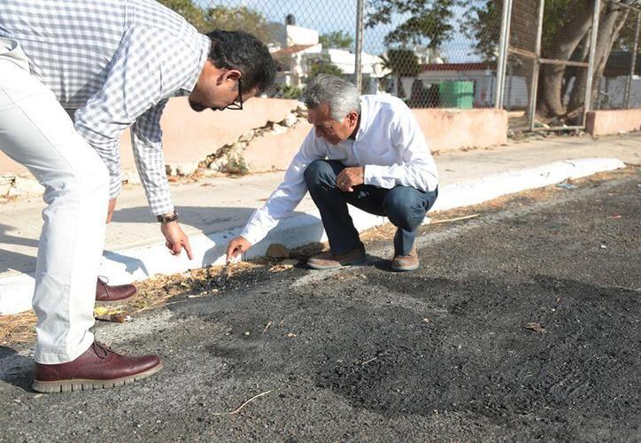 El alcalde de Mérida, Mauricio Vila, se dijo dispuesto a colaborar con la PGR para llegar al fondo del caso de las calles dañadas con ácido. La imagen es de archivo. (SIPSE)