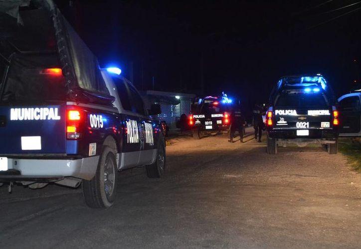 Seis sujetos se encontraban peleando, quienes sacaron palos y piedras. (Redacción/SIPSE)