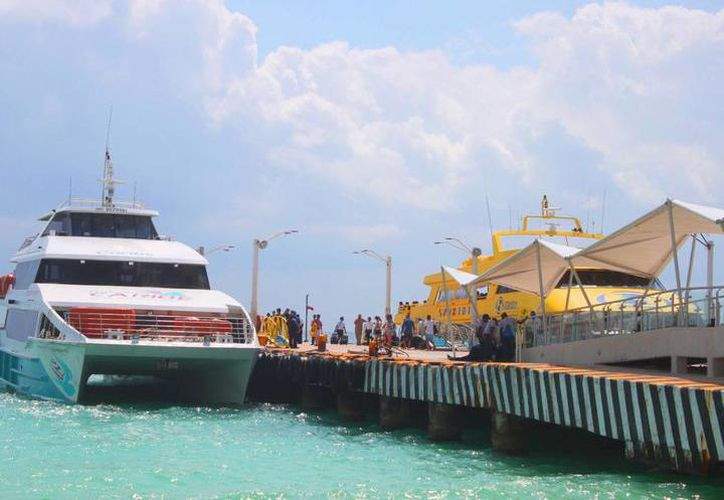 La actualización establece que es seguro viajar en los ferrys. (Redacción/SIPSE)
