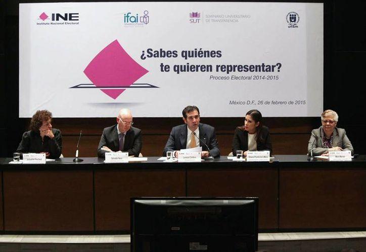 Lorenzo Córdova Vianello, titular del INE, pidió a los partidos políticos hacer esfuerzos a favor de la transparencia en las elecciones. (Facebook/INE)