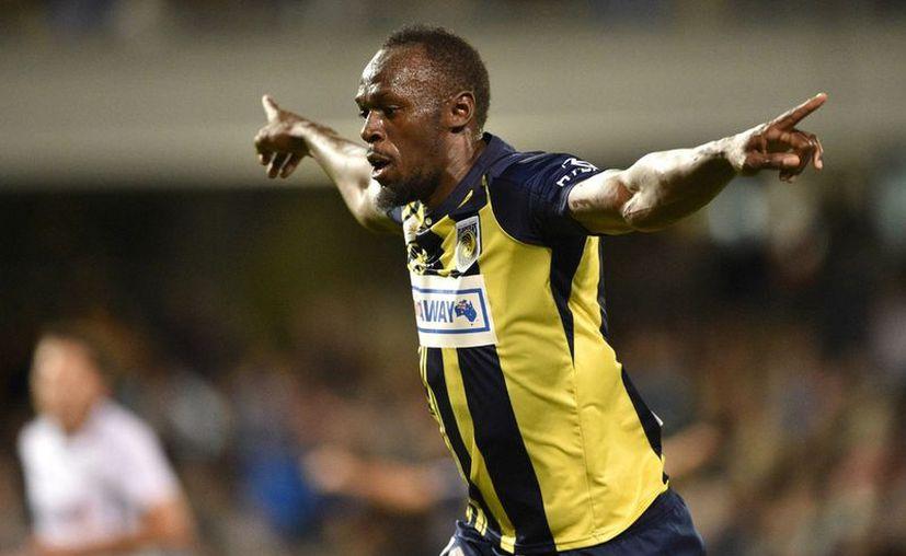 El equipo Central Coast Mariners dio por concluido el contrato de prueba de Usain Bolt. (AFP)