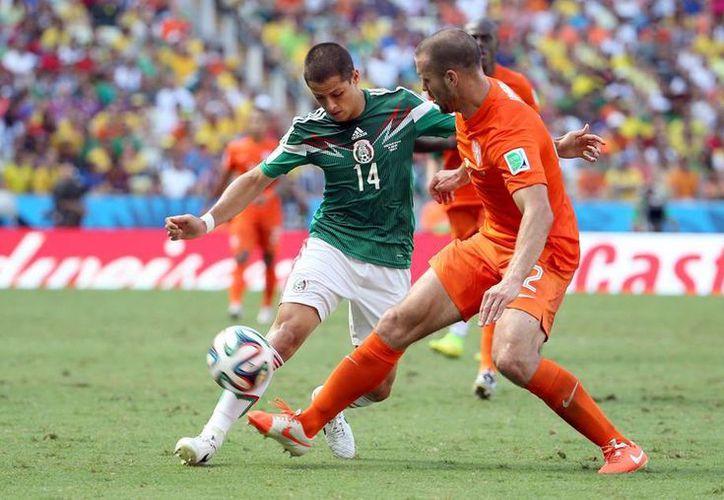 El partido México-Holanda alcanzó 98 por ciento de share en ambas televisoras, es decir, durante 15 minutos, casi nueve de cada 10 televisores lo sintonizaron. (Notimex)