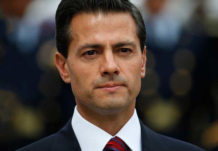 El presidente de México, Enrique Peña Nieto, fue entrevistado por Denise Maerker. (RT)