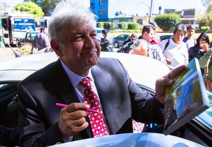 López Obrador llamó a evitar vicios en el Movimiento de Regeneración Nacional. (Archivo/Notimex)