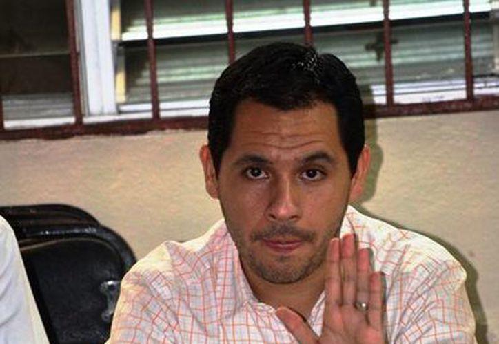 El regidor meridano Rubén Segura Pérez, de la bancada del PRI. (SIPSE)