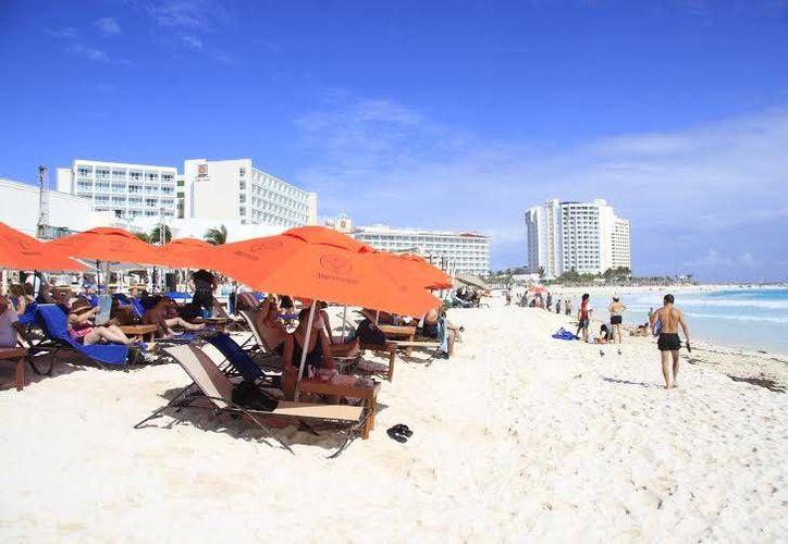 La ocupación en diversos destinos de Quintana Roo se muestra excelente para el fin de año. (Jesús Tijerina/SIPSE)