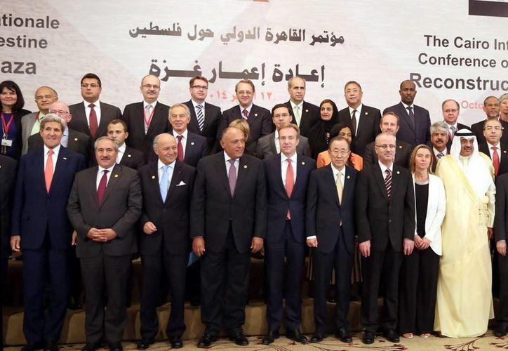 Egipto encabezó la cita para recaudar recursos para la reconstrucción de la asolada región de Gaza tras el conflicto con Israel. (EFE)