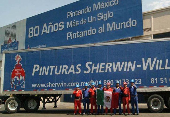 Sherwin-Williams posee marcas que incluyen Dutch Boy, Minwax y Krylon. (sherwin.com.mx/Foto de contexto)