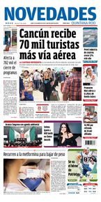 Cancún recibe 70 mil turistas más vía aérea