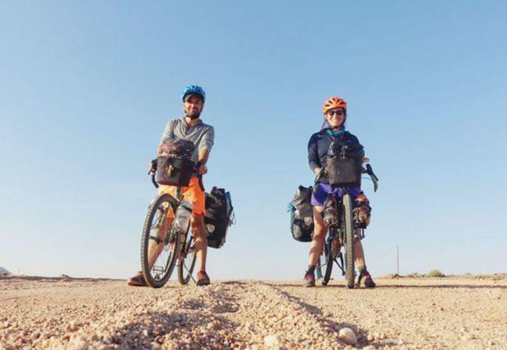 En su blog, los ciclistas describieron no solo el lado positivo del viaje, sino también los problemas que les ocurrieron en el camino. (simplycycling.org)