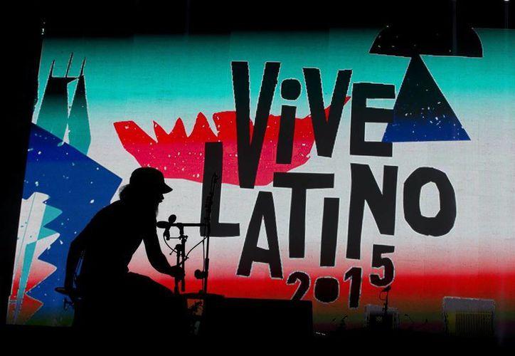 En el Vive Latino se dan cita las mejores bandas. (AP)