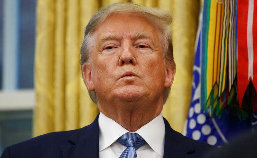 Donald Trump dejó entrever en twitter que seguirá condicionando e imponiendo sus intereses frente a China. (Foto: Associated Press)
