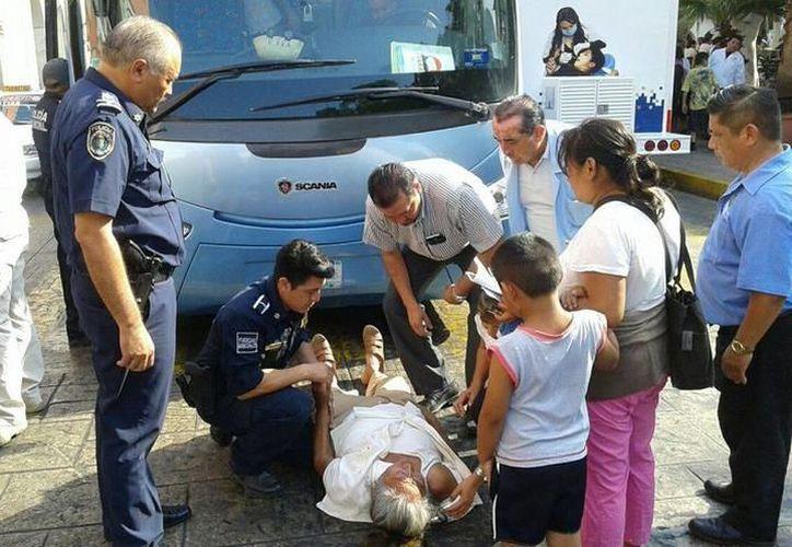 Los hechos ocurrieron poco después de las 11 de la mañana, en el Fraccionamiento Francisco de Montejo. (SIPSE)