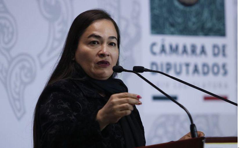 Verónica Juárez, coordinadora de diputados del PRD. (Agencia Reforma)