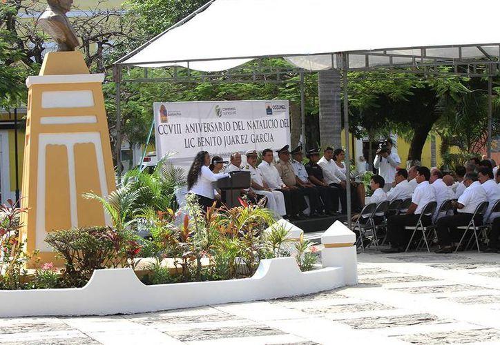 El evento tuvo lugar en el parque que lleva el mismo nombre. (Cortesía/SIPSE)