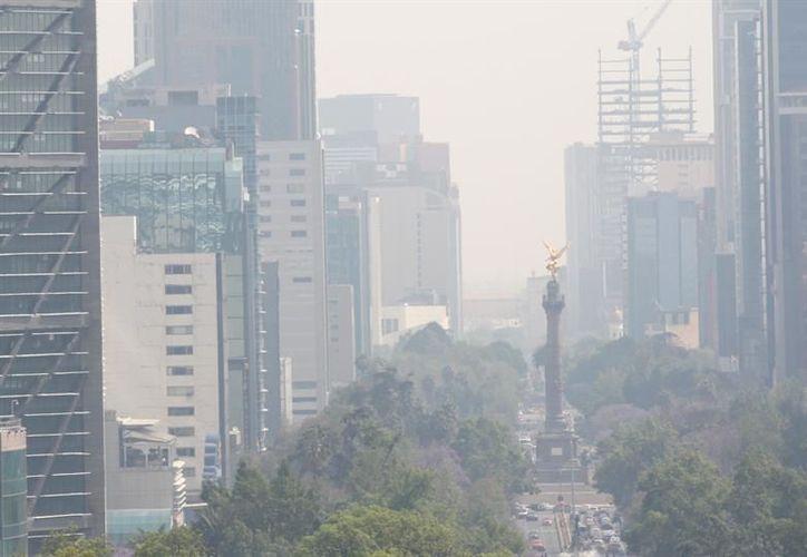 La poca circulación del aire es la principal causa de la contaminación del aire en la Ciudad de México. (ChemaTierra)