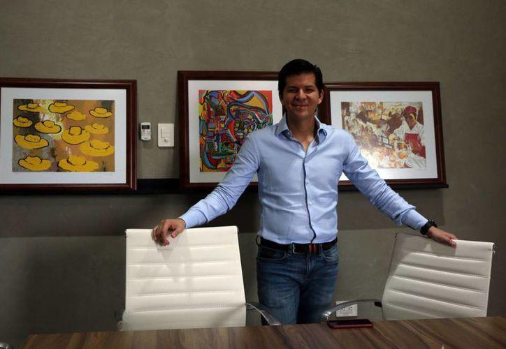 Elías Franco Manzanilla, ingeniero químico industrial de profesión, un emprendedor e innovador. (José Acosta/Milenio Novedades)