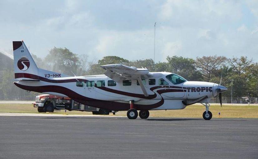 Los vuelos de Tropic Air serán de tres veces por semana. (Foto: Eddy Bonilla)